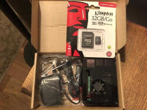 Unpacking the Raspberry Pi 4